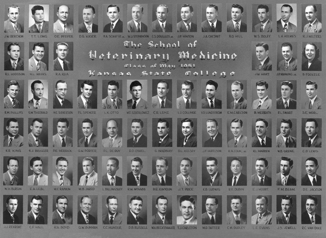 Graduating Class of 1951   Composites   Class Activities