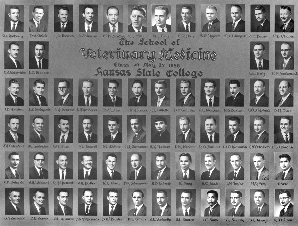 graduating class of 1956