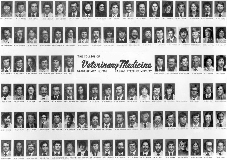 Graduating Class Of 1980 Composites Class Activities