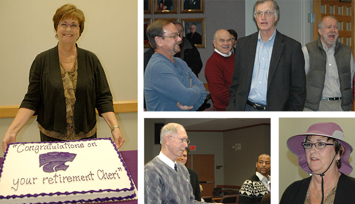 Cheri Ubel retirement collage