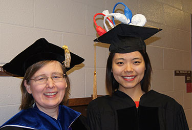 Dr. Wangemann and Xiangming Li