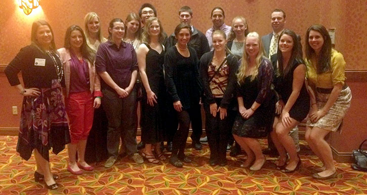 K-State students at SAVMA Symposium