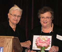 Beth Unger and Gayle Willard