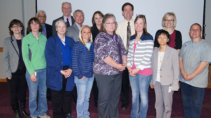 Classified employees recognized for years of service