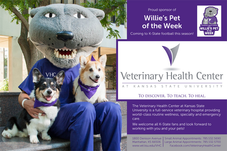 Willie's Pet of the Week Ad