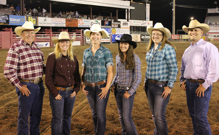 VHC team at Dodge City Rodeo