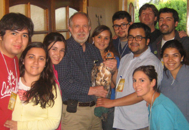 Dr. Jim Carpenter in Chile