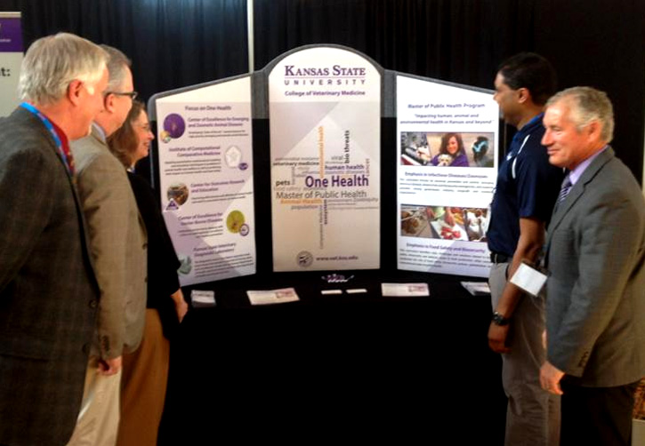 K-State hosts booth at One Health Summit