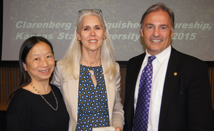 Drs. Peying Fong, Alicia McDonough and David Poole