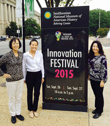 Dr. Annelise Nguyen at Smithosonian Innovation Festival