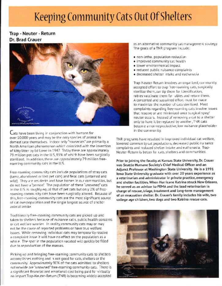 Riley County Humane Society story