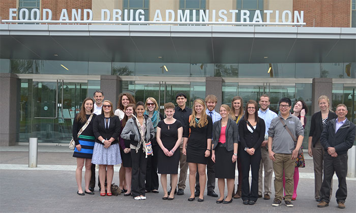 Frontier students tour FDA