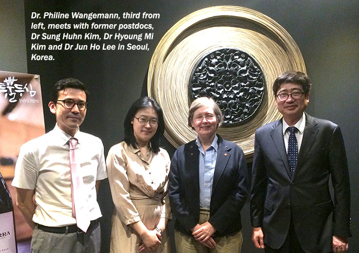 Dr. Philine Wangemann in Korea