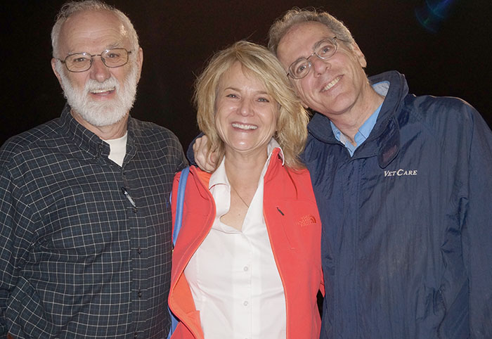 Dr. Barry Kellogg, Dr. Susan Krebsbach, Dr. Barry Kipperman