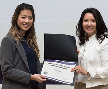 Jennie Kim and Dr. Annelise Nguyen
