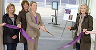 Ribbon cutting at new Equine Performance Testing Center