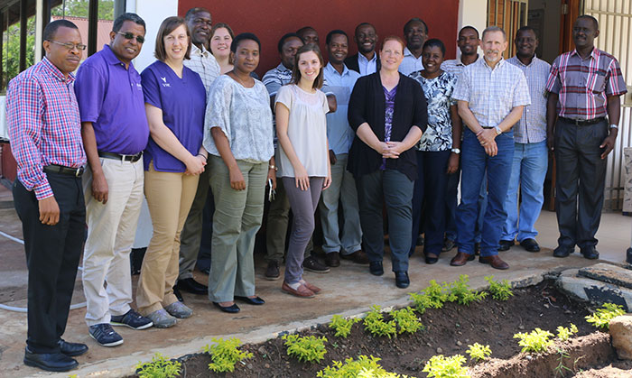 Workshop Group Photo in Tanzania
