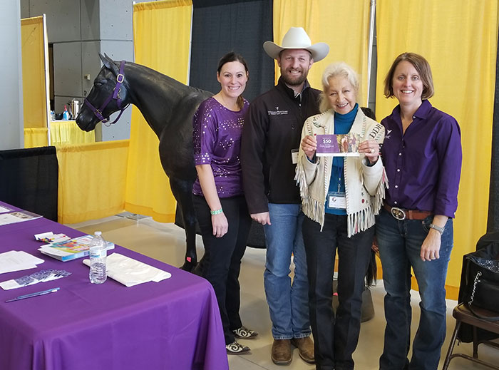 EquiFest Ashley VanMeter, Dr. Chris Blevins Jami Maike