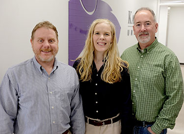 Drs. Butch and Kate KuKanich and David Rankin