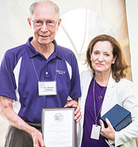 Dr. Howard Erickson and Dr. Bonnie Rush