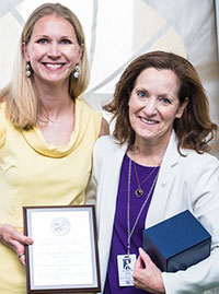 Dr. Kathleen Ritzmann and Dr. Bonnie Rush