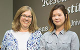 Dr. Dana Vanlandingham and So Lee Park