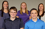VTPRK students: Natasha Vangundy, Will Patterson, Shaylee Flax, Colton Hull and Whitney Sloan