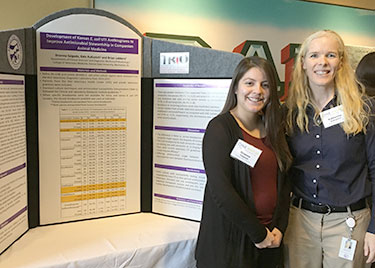 Brianna Salgado and Dr. Kate KuKanich