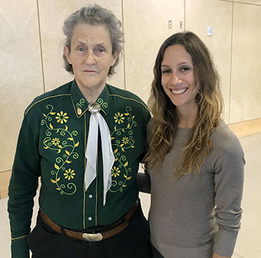 Dr. Temple Grandin and Dr. Abbie Viscardi