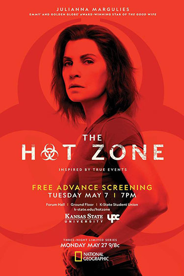 The Hot Zone poster - with Julianna Margulies