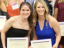 Senior Honors Banquet - Isabelle Withrock-Davis and Kara Mauch