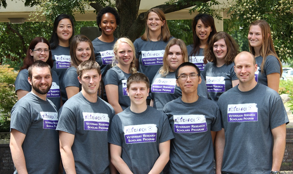 2016 Veterinary Research Scholars